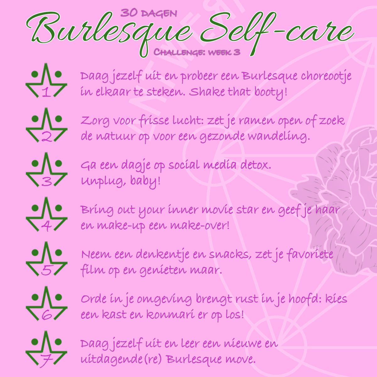 30 dagen Self-care Challenge week 3